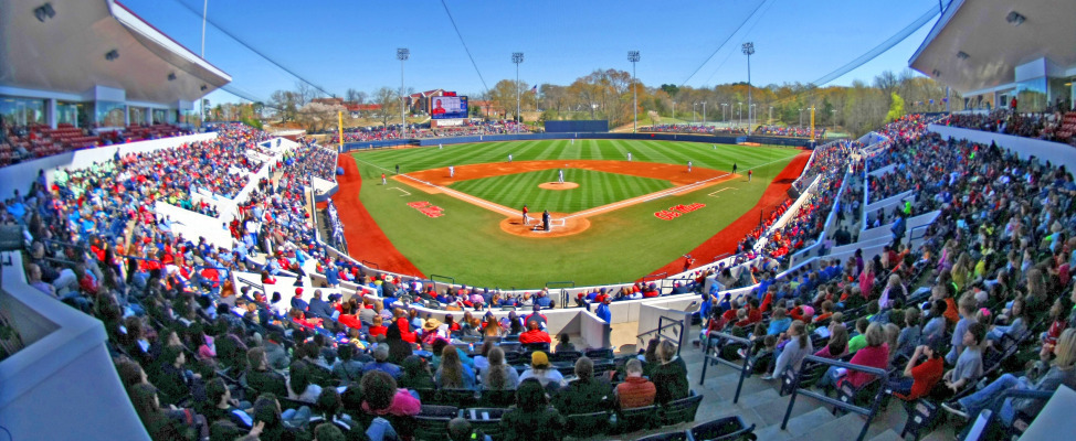 "University of Mississippi ""Swayze Field"""