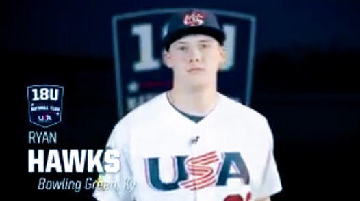 Ryan Hawks---18u National Team (2019)