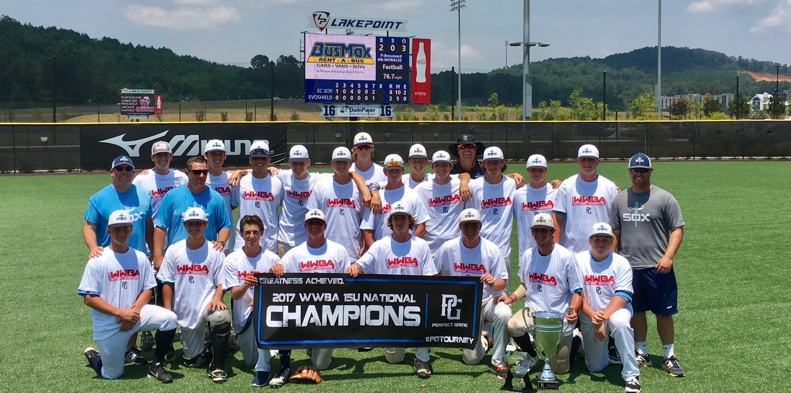 2017 World Wood Bat 15u National Champions