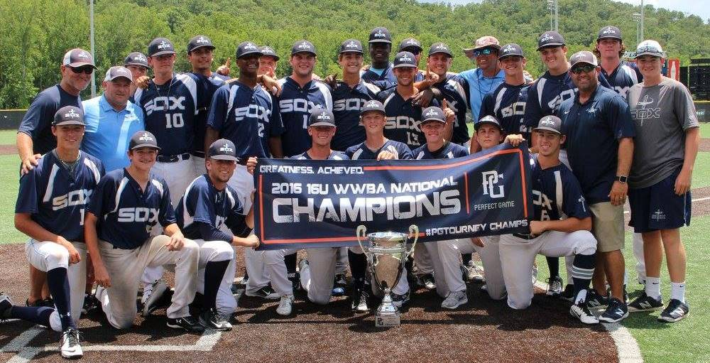 2016 World Wood Bat 16u National Champions