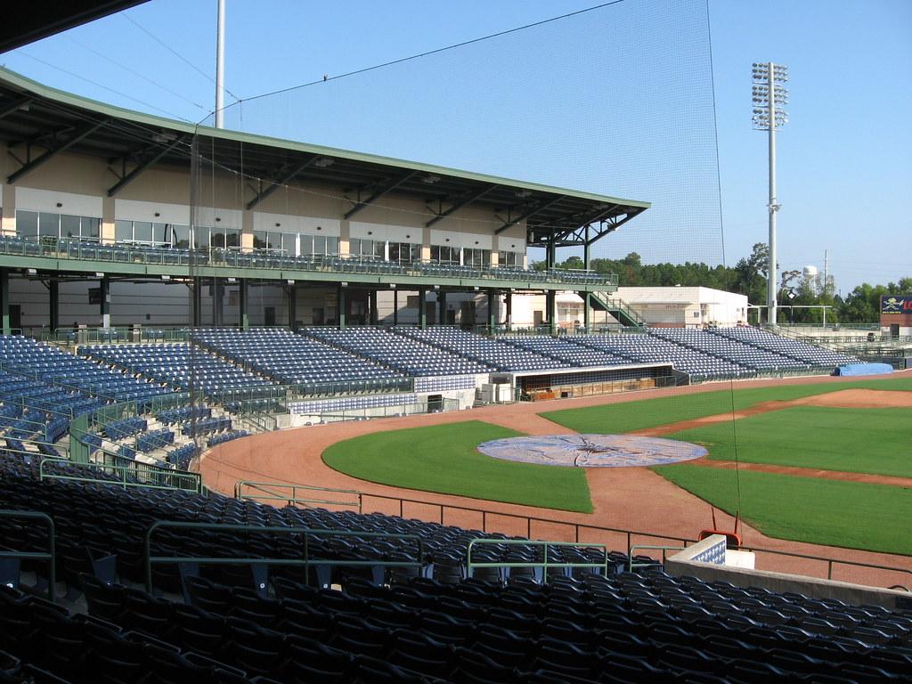 Trustmark Park---Home of Atlanta Braves AA