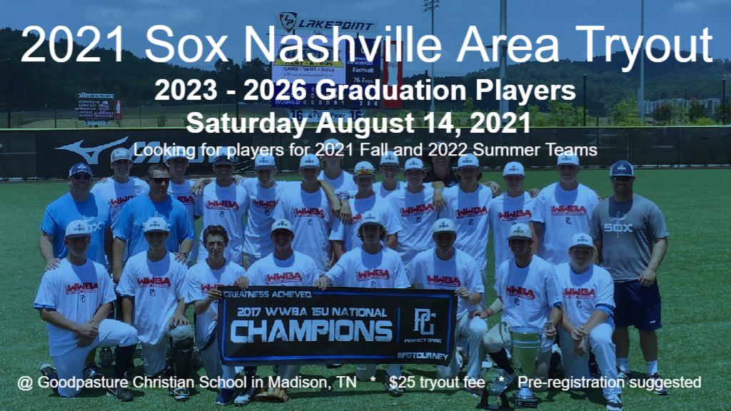 2021 Fall Nashville Tryout